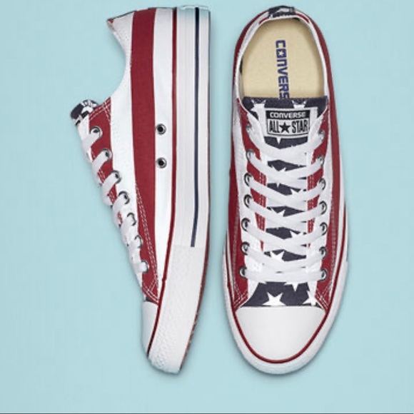 Converse Other - 🇺🇸Converse All Star Ox (American Flag)